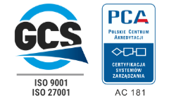 GCS ISO 9001 ISO 27001 PCA 181